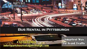 Bus Rental in Pittsburgh