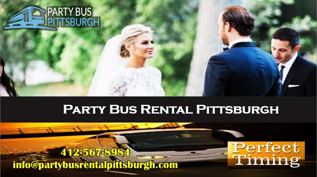 Wedding planning - Party Bus Rental Pittsburgh